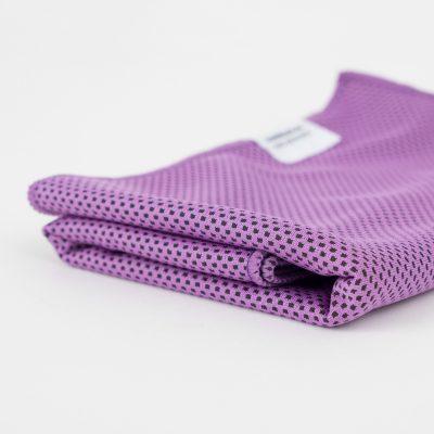 Kuehltuch flieder lila purple